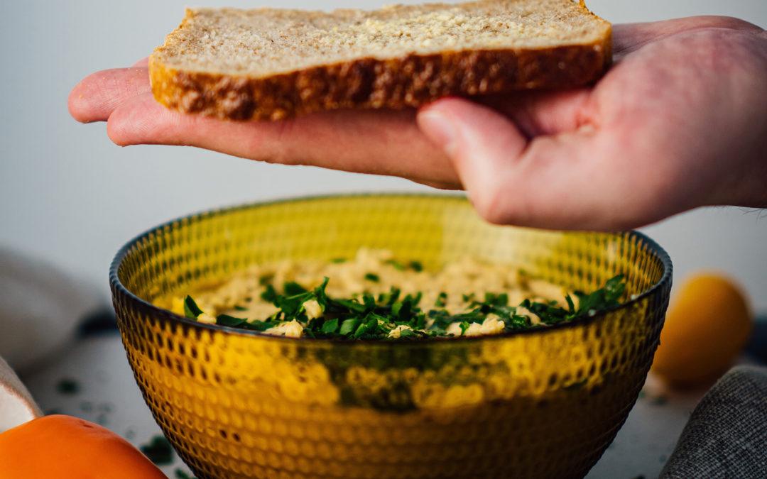 Esmorzars saludables amb patés vegetals
